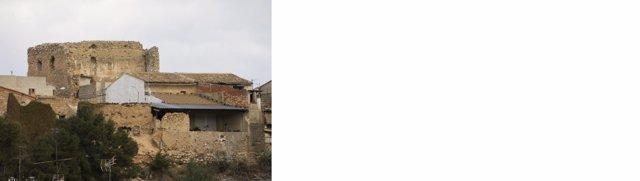 El Castillo de Vilamarxant entra en la lista roja por su estado de ruina