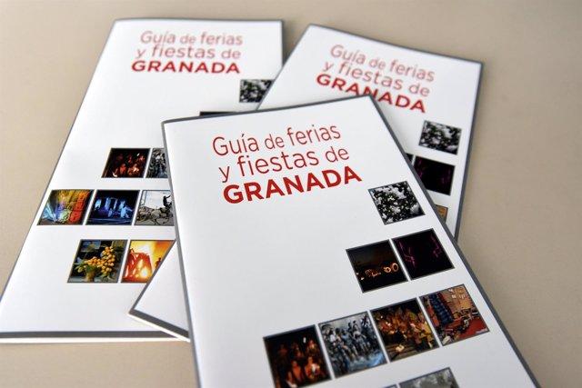 Guía de las fiestas de la provincia de Granada editada por Diputación