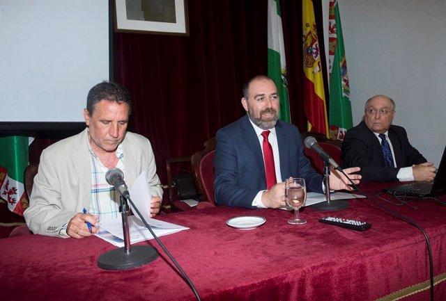 Jesús Solís, diputado de Economía de la Diputación de Cádiz