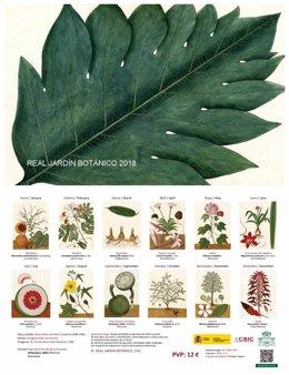Calendario del Real Jardín Botánico