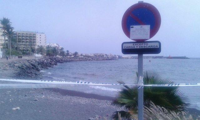 El Ayuntamiento De Mogán Cierra Una Pequeña Playa Junto Al Hotel Sunwing