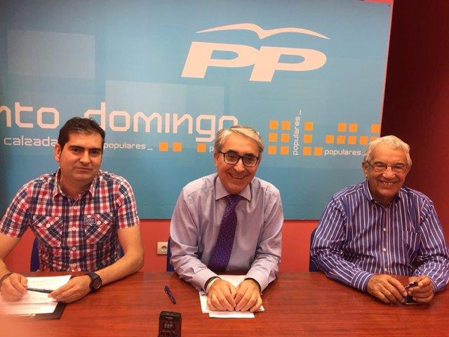 David Mena (PP) critica la incapacidad del PSOE en Santo Domingo
