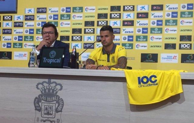 Vitolo se presenta con Las Palmas
