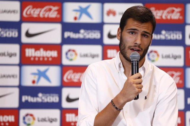 El nuevo portero del Atlético de Madrid André Moreira