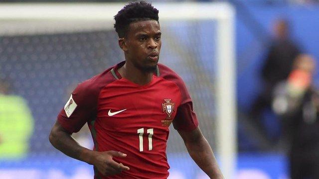 Nélson Semedo con la selección de Portugal