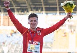 El español Carlos Mayo, campeón de Europa Sub-23 de 10.000 metros