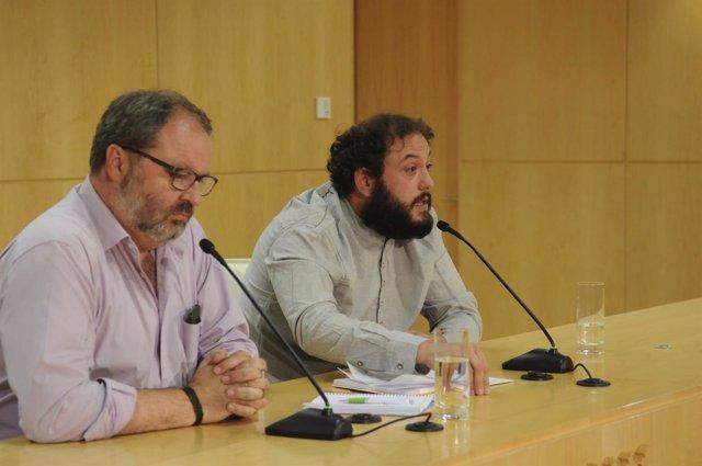 Guillermo Zapata y Javier Barbero