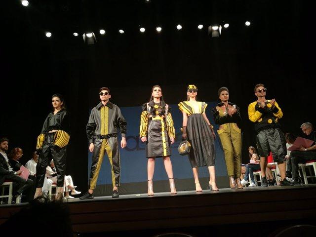 Saraya del Sanz, ganadora del Premio Nacional de Moda para Jóvenes Diseñadores