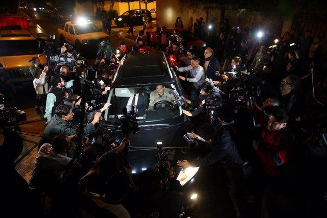 Ollanta Humala y Nadine Heredia se ponen a disposición de la Justicia de Perú