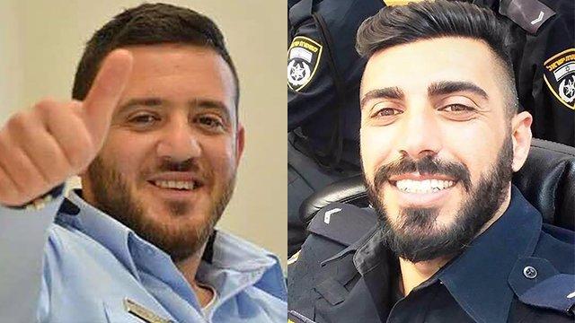 Los dos policías asesinados