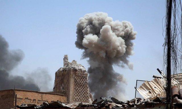 Explosión en Mosul