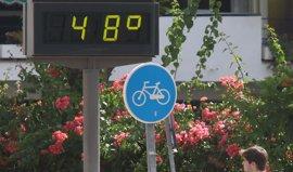 Avisos por altas temperaturas en toda Andalucía menos Almería con nivel rojo en Córdoba y Jaén