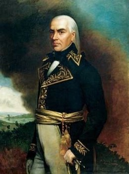Retrato de Francisco de Miranda por Martin Tovar y Tovar