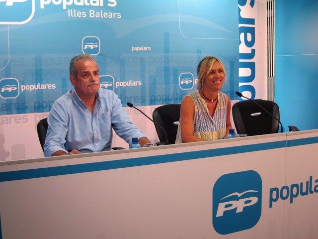 Miquel Ramis y Teresa Palmer