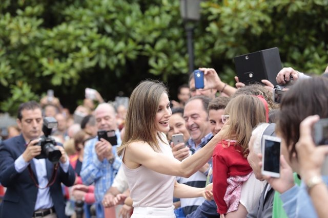 Letizia Ortiz en Oviedo