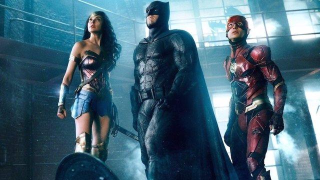 La Liga de la Justicia: Wonder Woman, Batman y The Flash