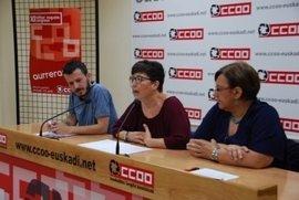 CC.OO. Euskadi inicia el lunes con el PNV una ronda de contactos para presentar a su nueva dirección