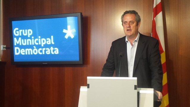 El portaveu del grup Demòcrata a Barcelona, Joaquim Forn