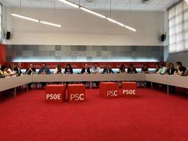 Empieza la reunión de las direcciones del PSC y del PSOE para ratificar sus propuestas para Catalunya