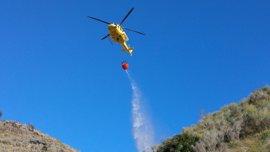 Canarias pide a los ciudadanos extremar las precauciones para reducir el riesgo de incendios forestales