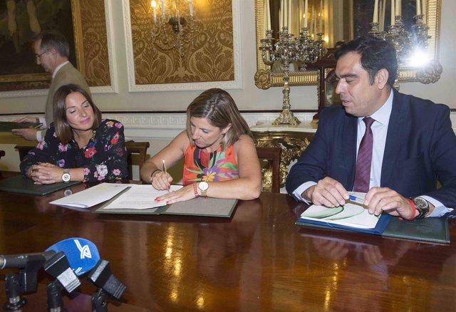 Diputación de Cádiz y ATA firman un convenio