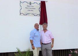 Estepona homenajea a Miguel Ángel Blanco dedicándole un nuevo parque público