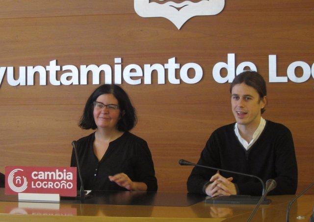 Peña y Manso de Zúñiga, en una rueda de prensa