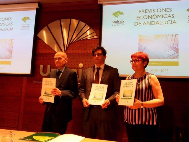 Analistas Económicos García Navas, Muñoz y Becerra verano 2017