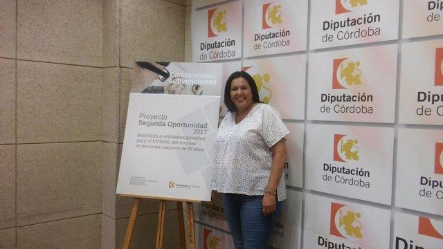 Dolores Amo presenta el 'Proyecto Segunda Oportunidad'