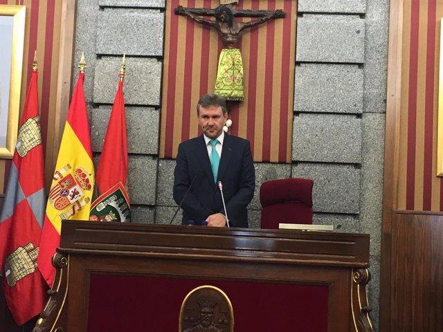 Burgos: Lacalle Al Inicio Del Pleno