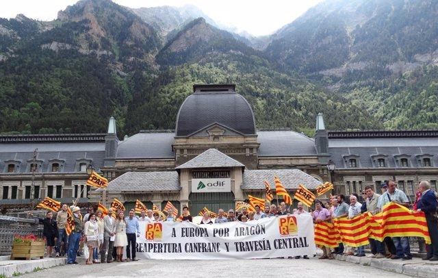 Nota Par Alto Aragón Apoyo Manifestación Canfranc.Doc