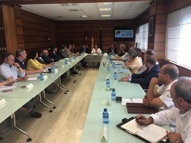 Valladolid.- Reunión de la Mesa del Sabor