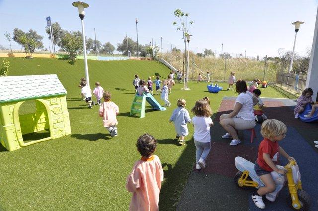 Escuela municipal infantil 'Nemo' en Tomares (Sevilla)
