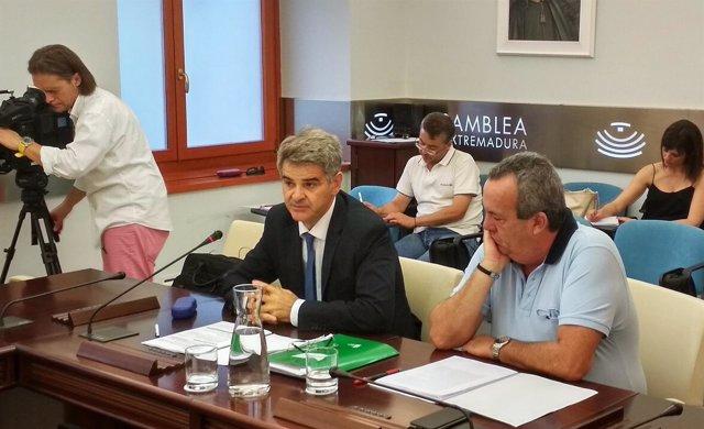 Ceciliano Franco, en la Asamblea