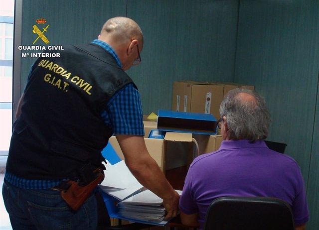 La Guardia Civil Destapa Una Trama Delictiva Dedicada A La Tramitación Fraudulen