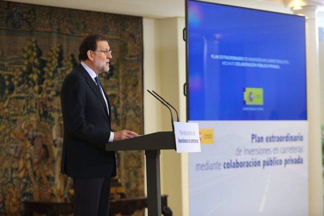 Rajoy presenta el Plan Extraordinario de Infraestructuras