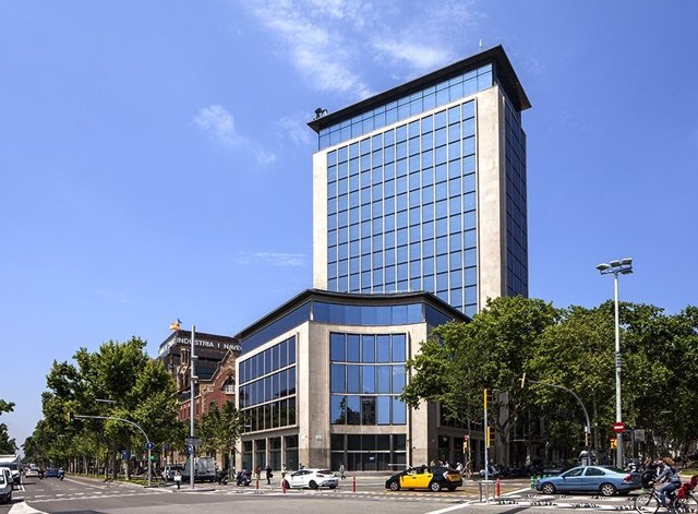 Edificio Deutsche Bank de Barcelona, futura 'flagship' de Seat