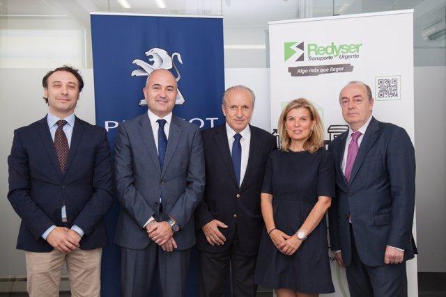 Redyser firma un acuerdo con Peugeot para renovar su flota