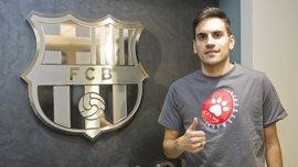 Diego Quintela rescinde su contrato con el FC Barcelona Lassa