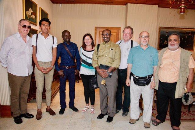 Armengol se reúne con miembros de ARC-PEACE Internacional