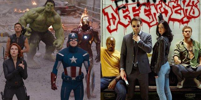 Vengadores 4 podría conectar con las series de Marvel de Netflix