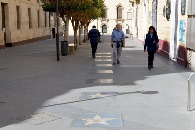 Paseo de las Estrellas de Almería