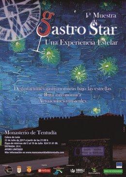 Nota Informativa. I Muestra Gastro Star, Una Experiencia Sensorial En Tentudía