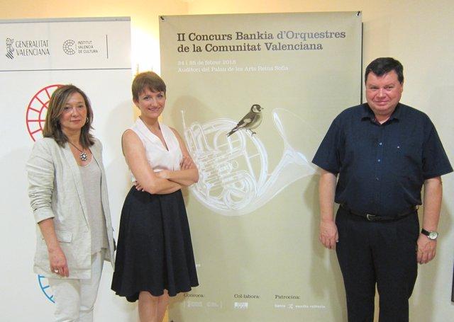 Presentación II Concurso Orquestas 'Bankia'