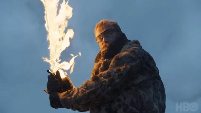 Beric Dondarrion en Juego de tronos