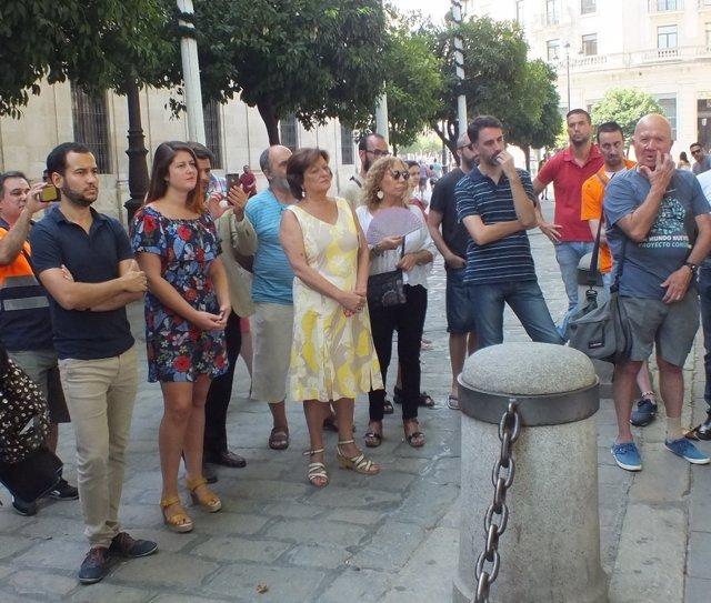 Audio Y Fotos Rojas En Concierto Concentración Por La Cultura Y El Arte