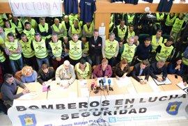 Ayuntamiento de Málaga y sindicatos estudiarán los pros y contras de la jornada de ocho horas para los bomberos
