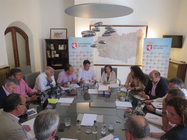 León: Comisión De La Diputación