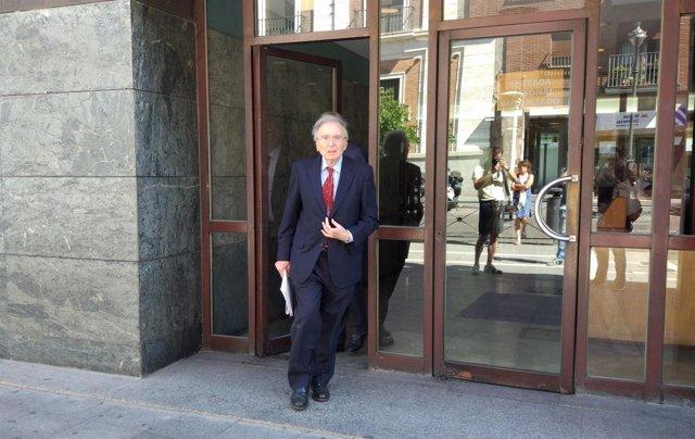 El ex director general de Energía y Minas Manuel Ordóñez