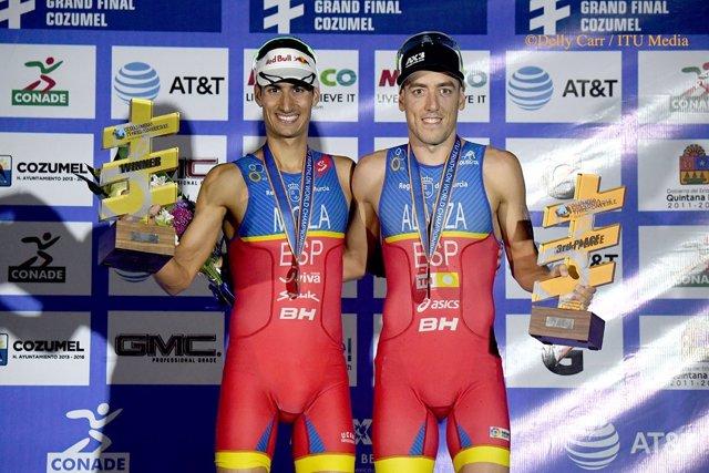 Mario Mola y Fernando Alarza